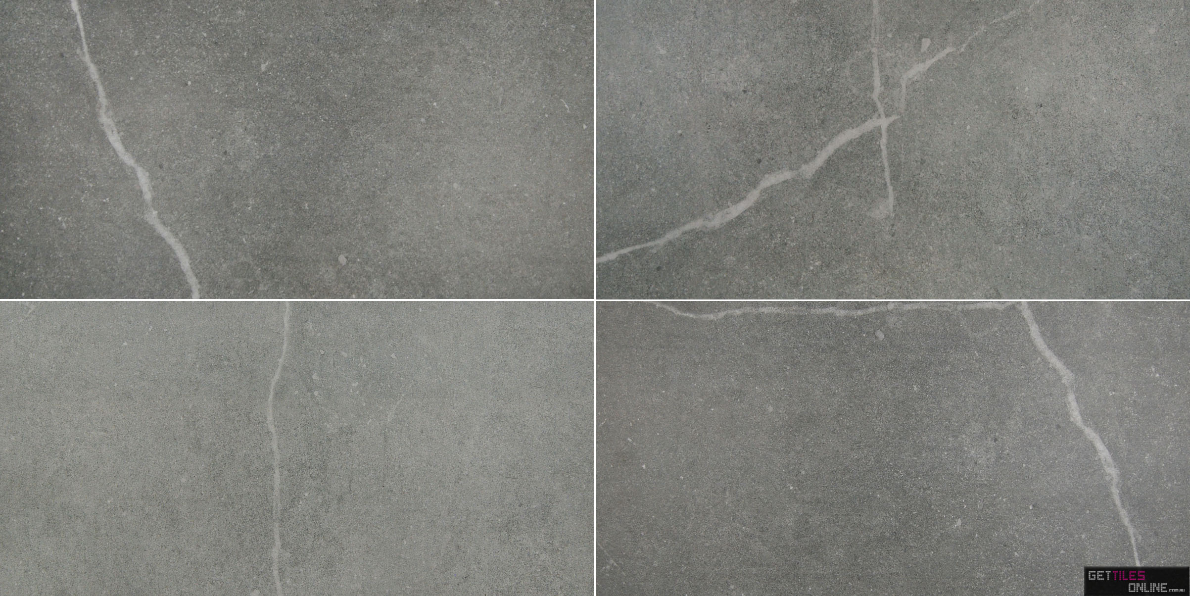 Cheap Natural Stone Look Pietra Stone Tile Dark Grey Get