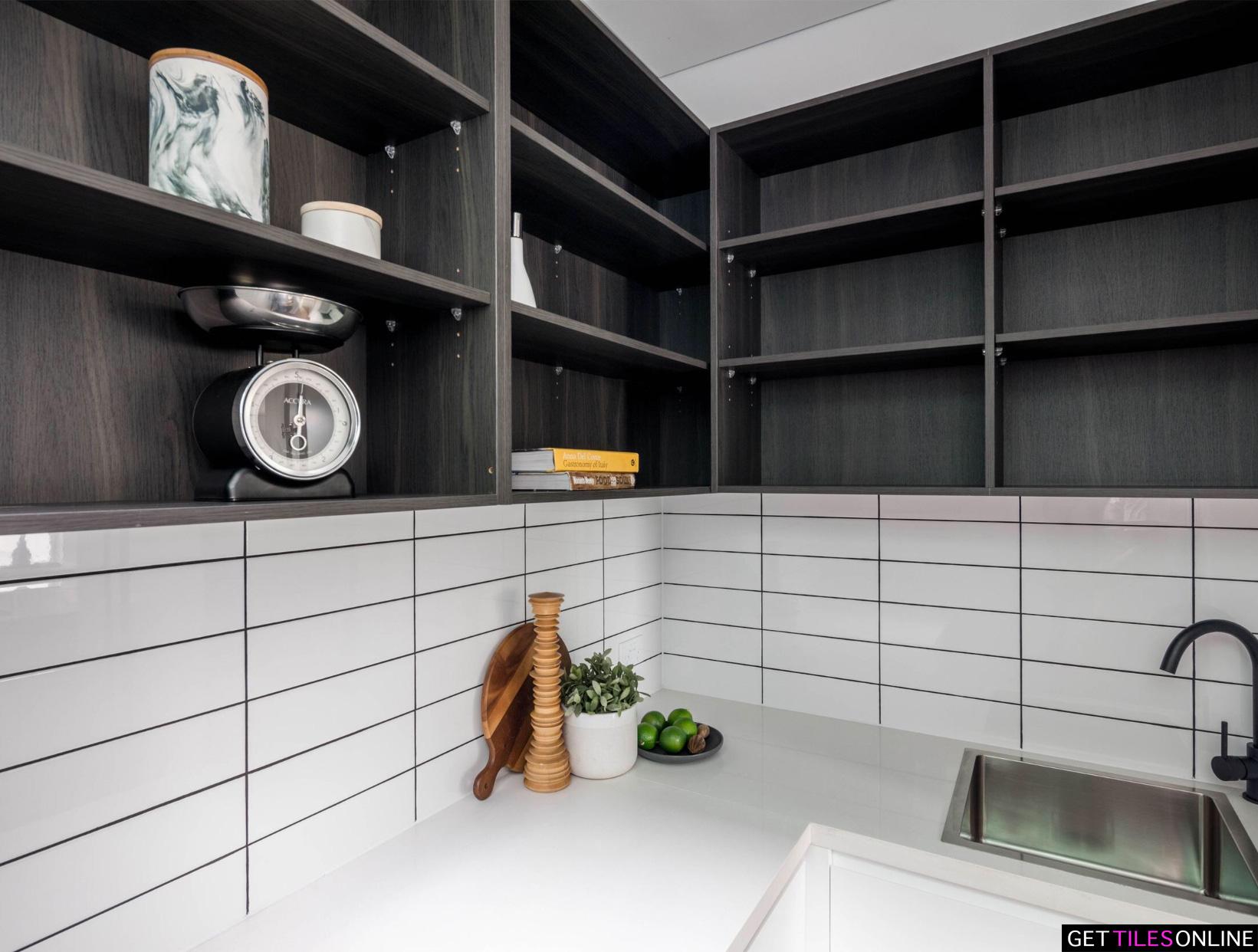 Gloss White Bathroom Tiles