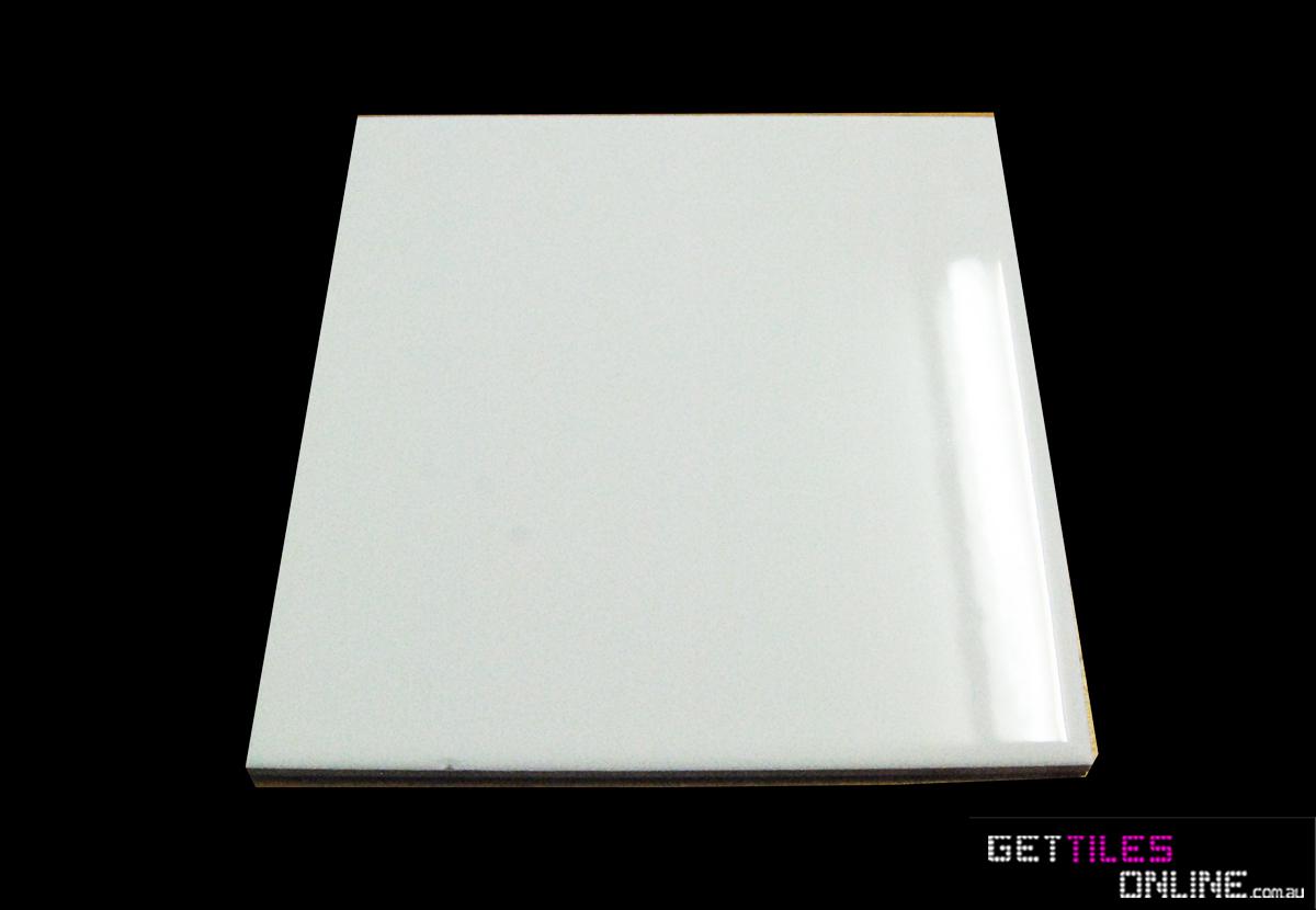 Order Cheap 150x150 White Gloss Wall Tile Get Tiles Online