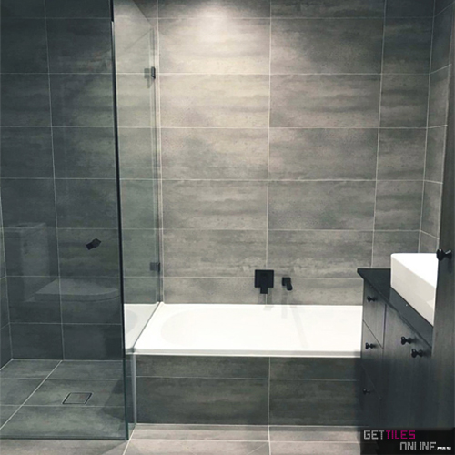 Cheapest White Matt Wall Tile 300x600 - $13/m2 | Get Tiles Online