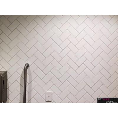 White Gloss 100x200 Bathroom Wall Tile Get Tiles Online