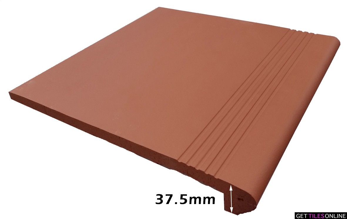 Ace Red Terracotta Bullnose/Coping 300x300 (Code:01924)