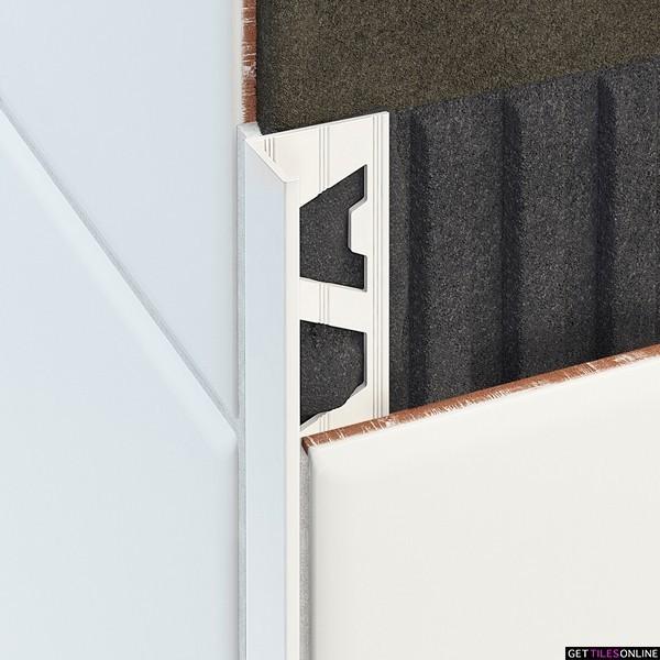 Aluminium Angle White 3M (Code:01880)
