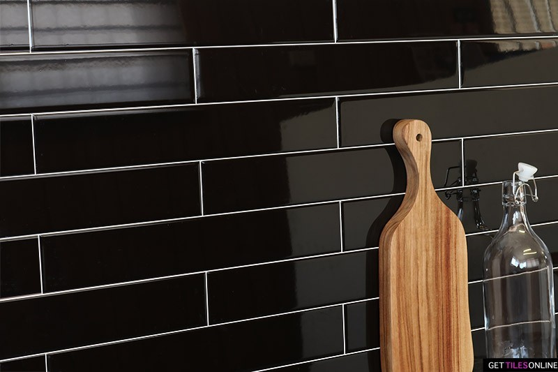 Black Gloss Wall 65x400 (Code:01674)