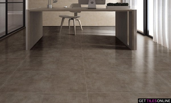 Cement Brown Matt 600x600 (Code:01508)