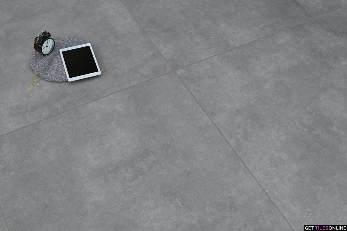 Creative Concrete Mid Grey Matt 1000x1000 (Code:01755)