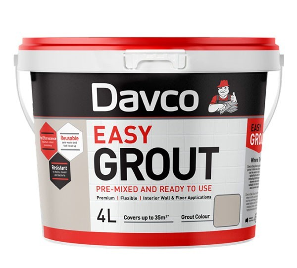 Pre-Mixed Davco Easy Grout 4L (Code:01548)