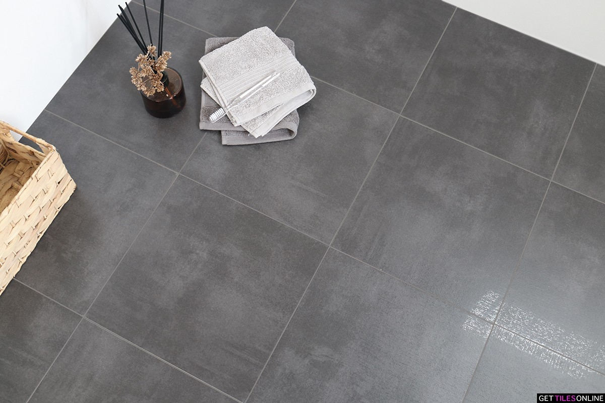 Ellis Anthracite Semi Polished 300x300 (Code:02096)