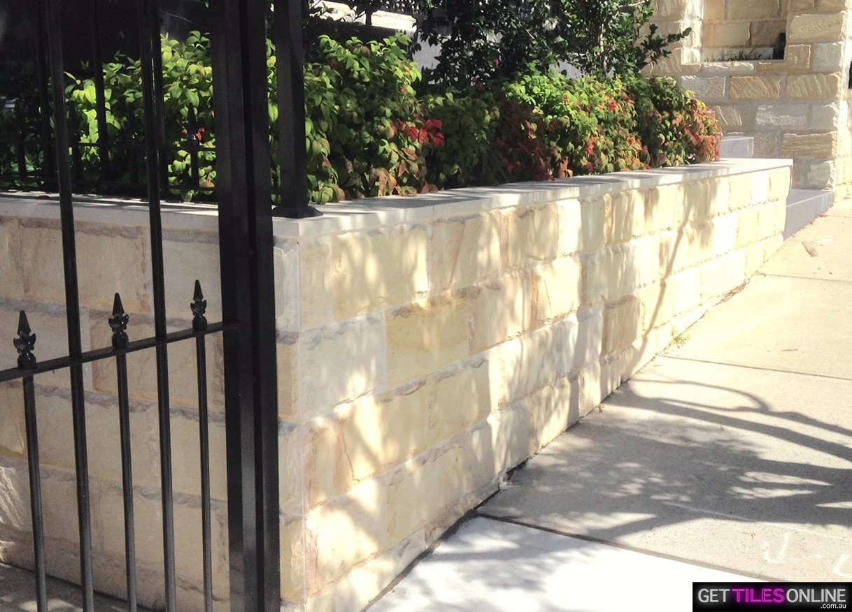 Alpine White Sandstone Wall Cladding 200x400x35 (Code:01296)