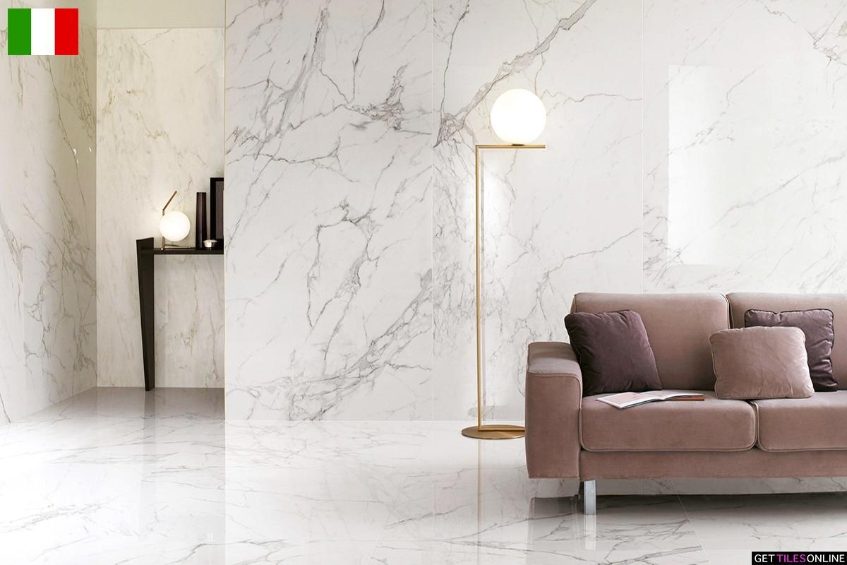 Marble Slab Calacatta 1200x2780 Polished (Code:01703)