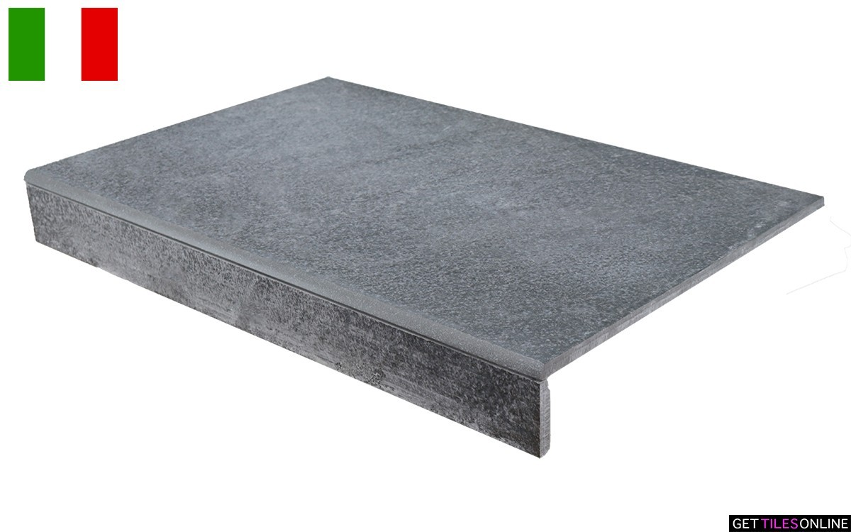 Neostone Anthracite External Bullnose 330x500 (Code:01737)