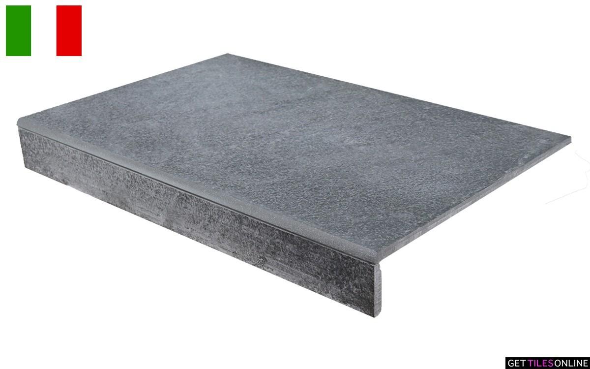 Neostone Anthracite External Bullnose 330x500 (Code:01737)