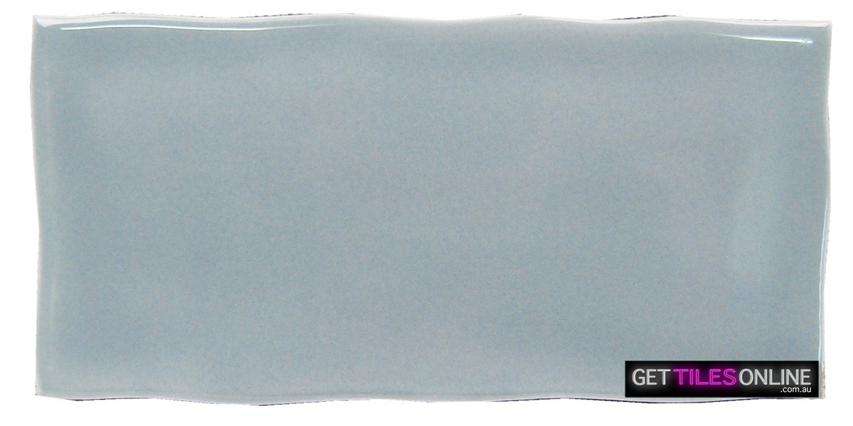 Turn Subway Blue Grey Gloss 75x150 / 75x300 (Code : 01257)