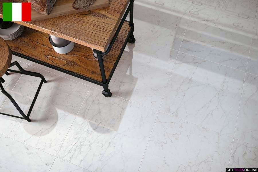 Reveal Carrara Lappato 595x595 (Code:02080)