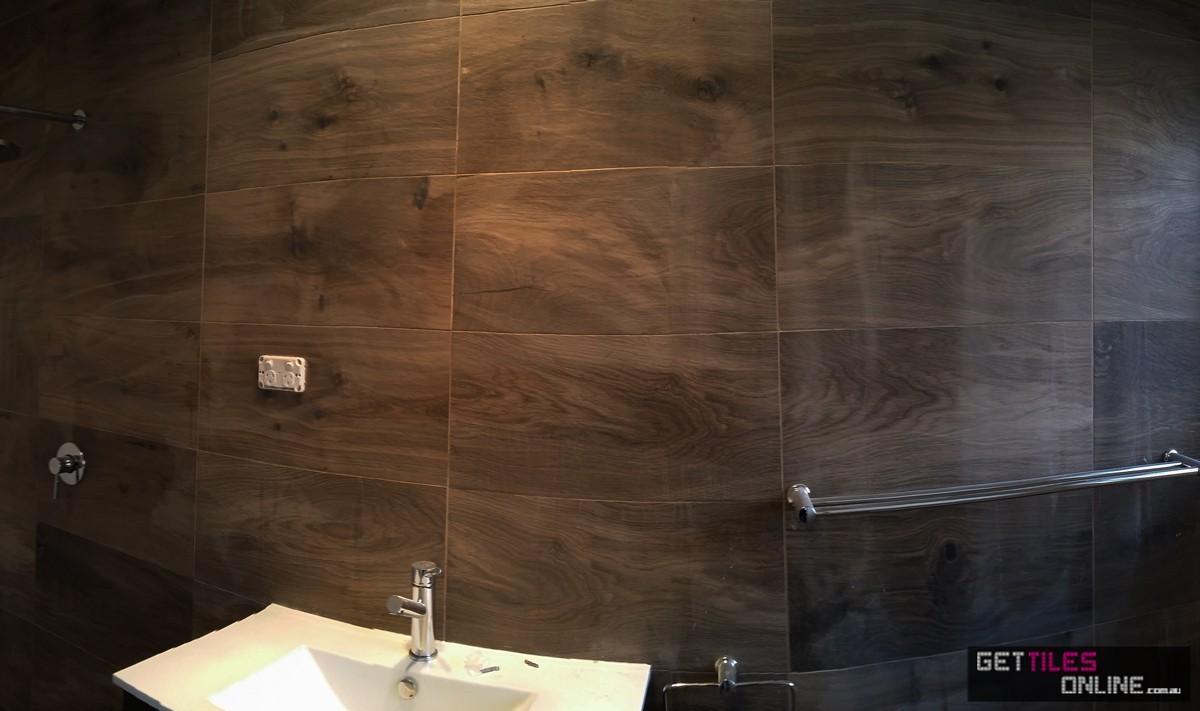 Wooden Brown Matt / Outdoor 300x600 (Code:00255)