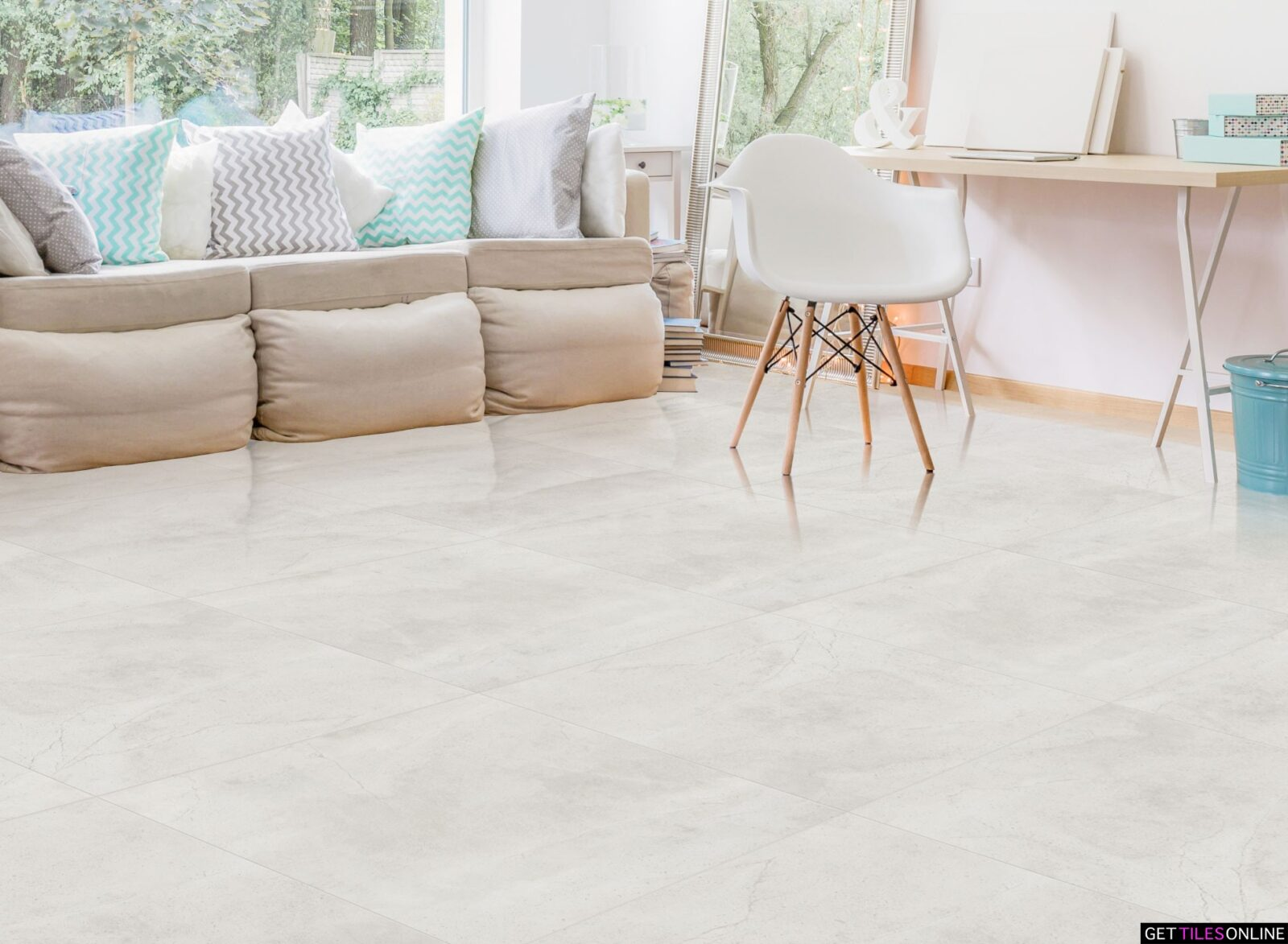 Sahara Bianco Polished 450x900 / 900x900 (Code:01713)