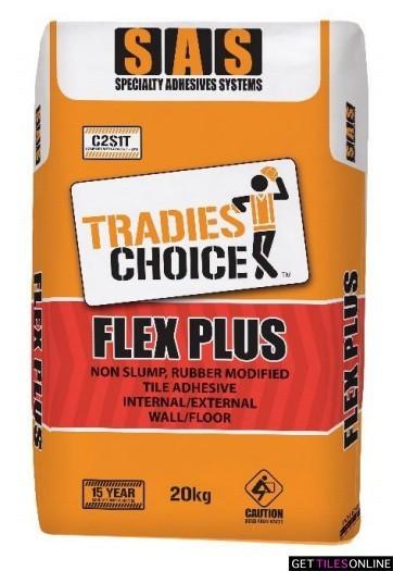 SAS Flex Plus Tile Glue 20kg (Code:01526)