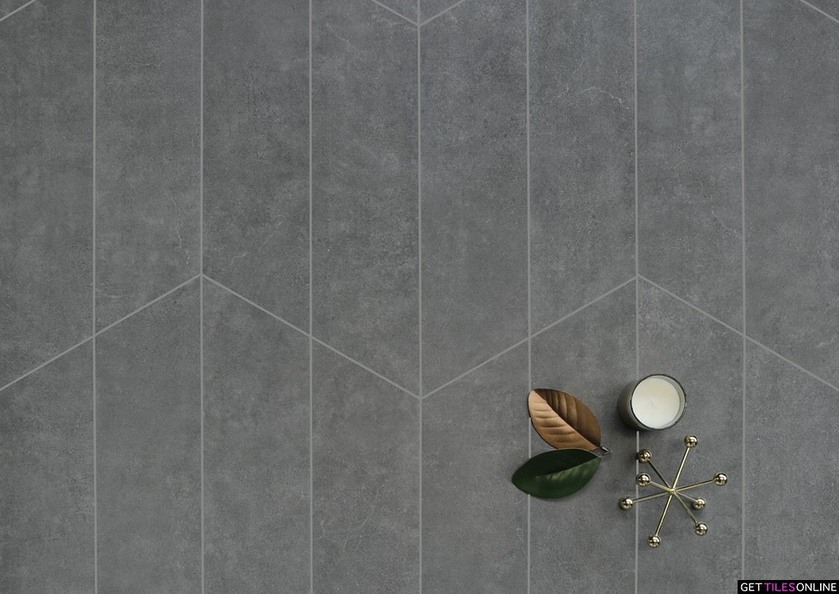 Soft Concrete Dark Grey Arrow 150x513 (Code : 01760)