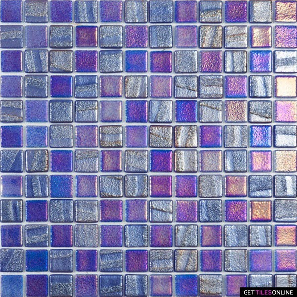 Spanish Pool tile Fusion Dark Blue (Code:01557)