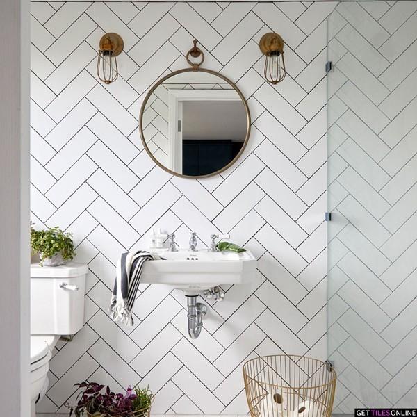 Buy Cheap White Matt Wall Tile 100x300 Get Tiles Online